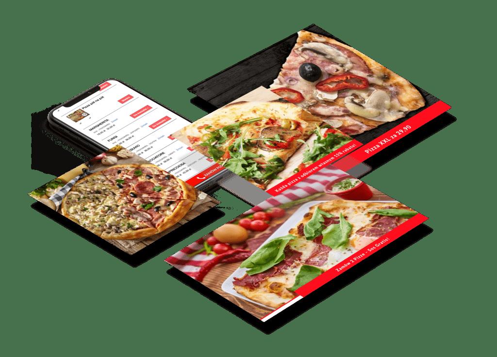 lokalna pizzeria reklama